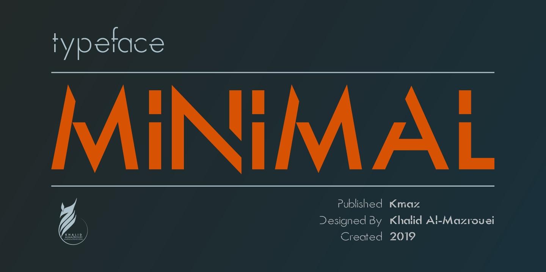 Minimal个性创意现代无衬线logo设计英文字体下载