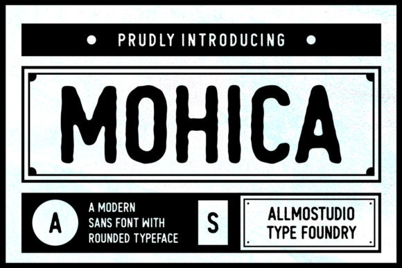 Mohica手写复古美式潮牌logo英文字体下载
