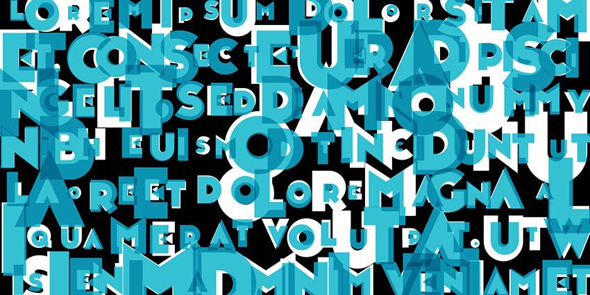 Noir et Blanc现代无衬线logo设计英文字体下载