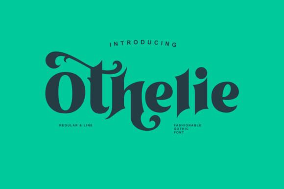 Othelie个性游戏衬线英文字体下载
