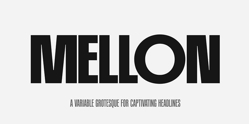 PF Mellon现代英文字体下载