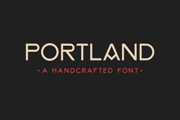 PortlandPro现代英文字体下载