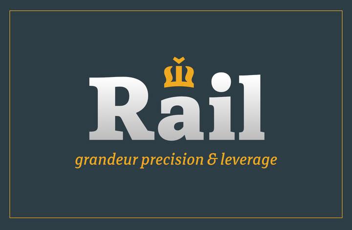 Rail英文字体下载