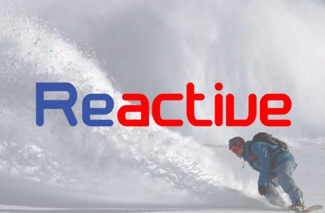 Reactive现代圆润简洁logo英文字体下载