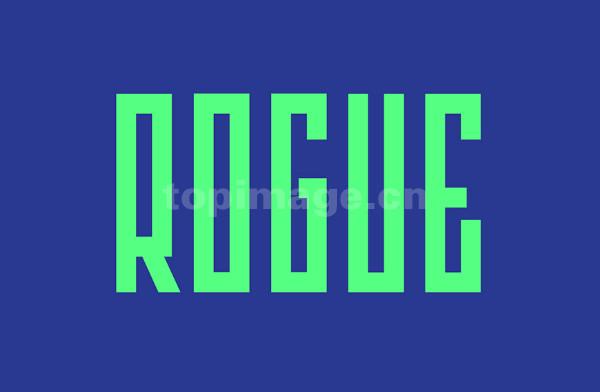 ROGUE现代简洁粗体时尚英文字体下载