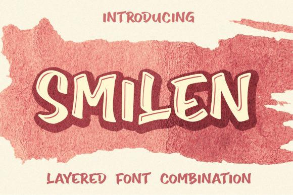 Smilen手写个性好看的英文字体下载