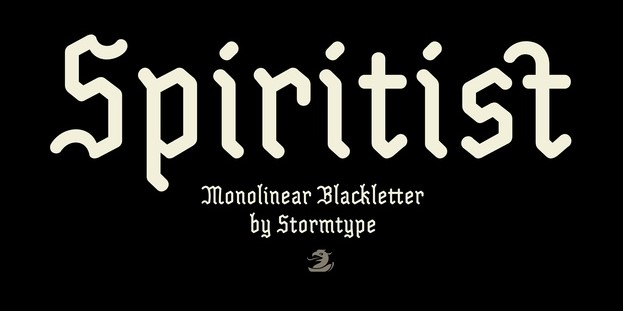 Spiritist哥特式老式英文字体下载