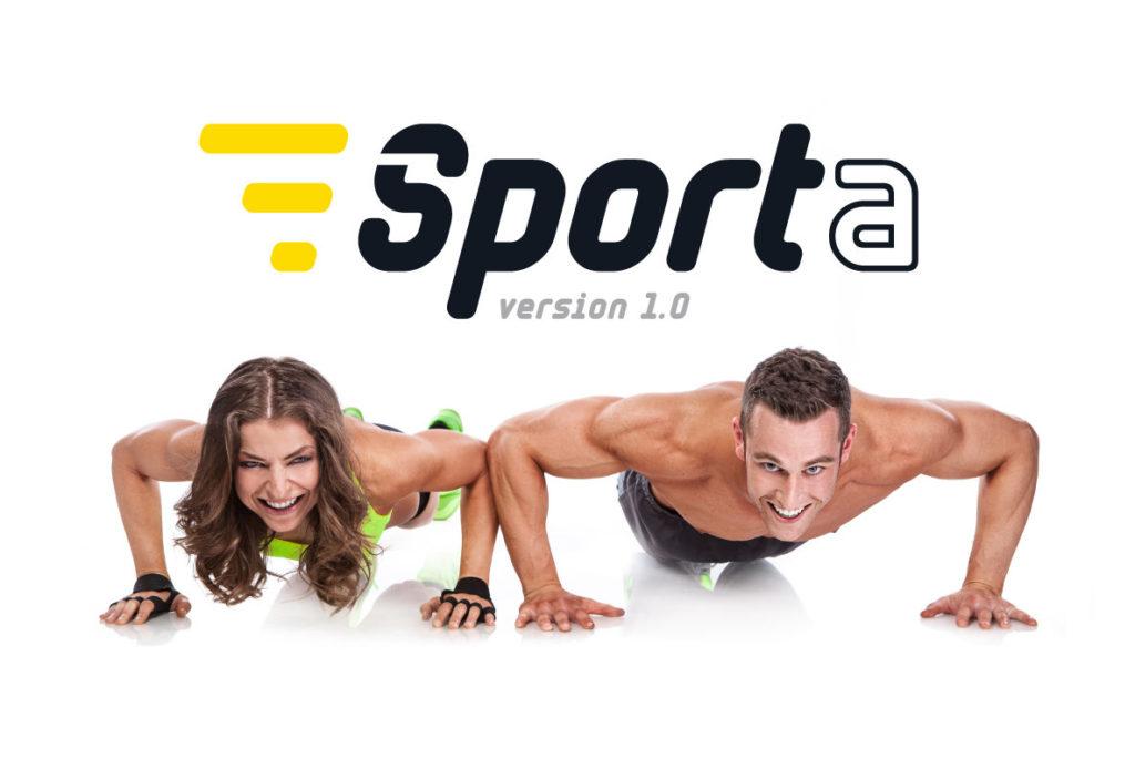 Sporta体育健身logo英文字体下载