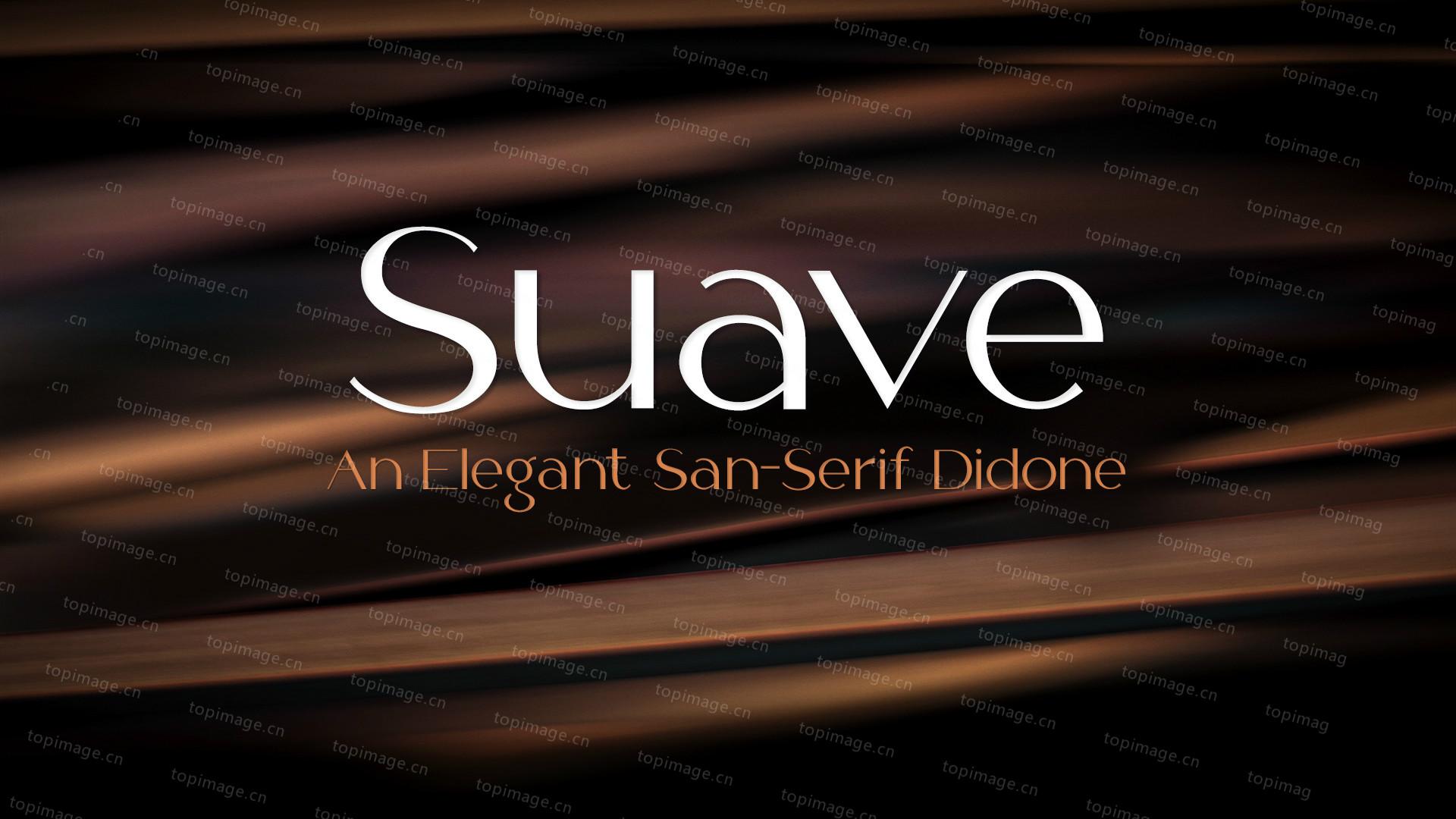 Suave现代简洁英文字体下载