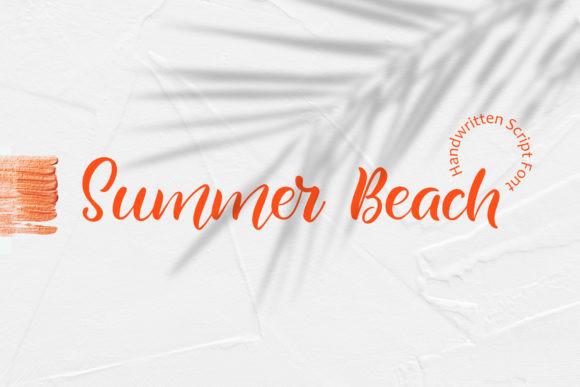 Summer Beach 手写节日海报英文字体下载