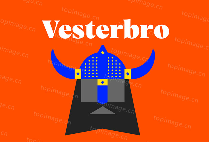 TRYVesterbro衬线经典好看的英文字体海报标题字体下载