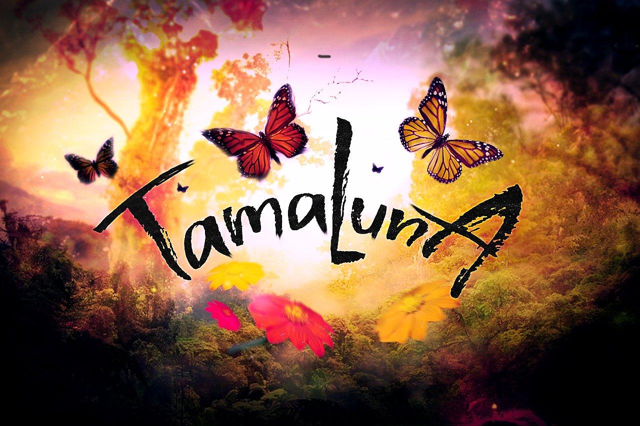 Tamaluna科幻影视个性主题手写英文字体下载