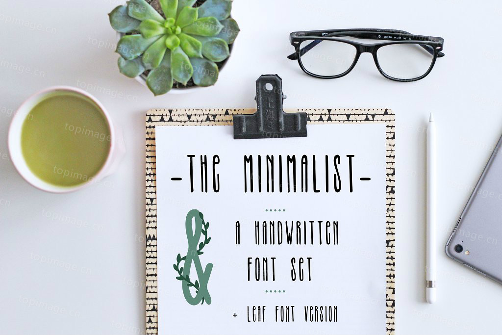 TheMinimalist纤细个性手写细长英文字体下载