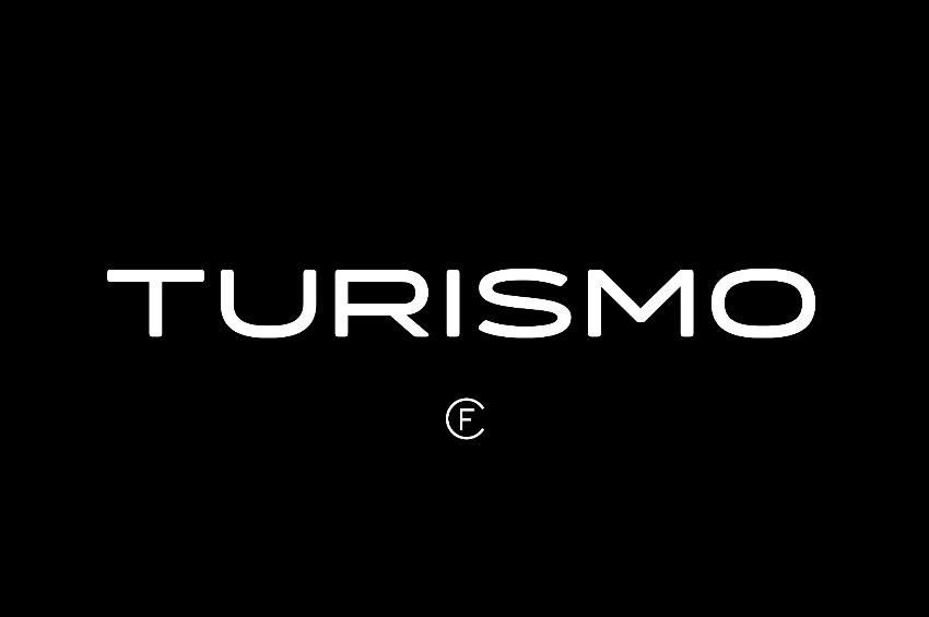 Turismo CF 现代科技logo英文字体下载
