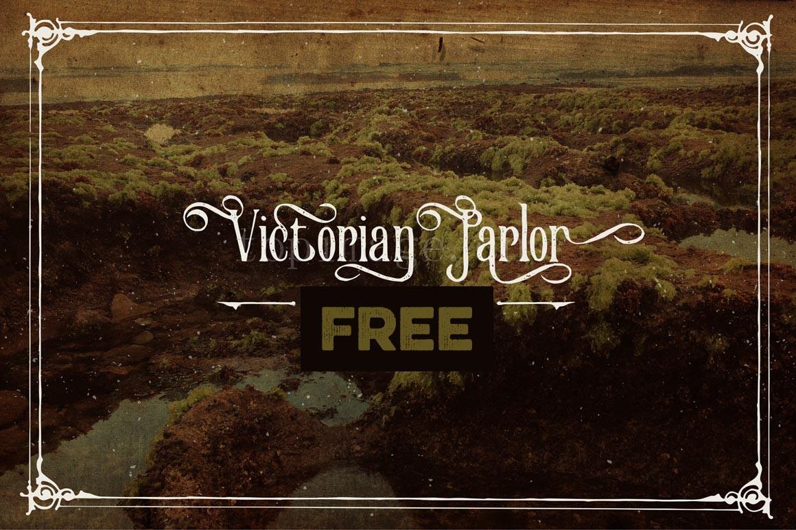 VictorianParlor哥特式罗马飘逸艺术英文字体下载