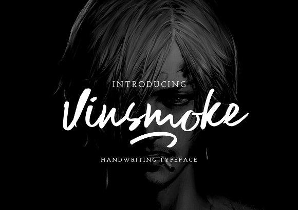 Vinsmoke手写时尚英文字体下载