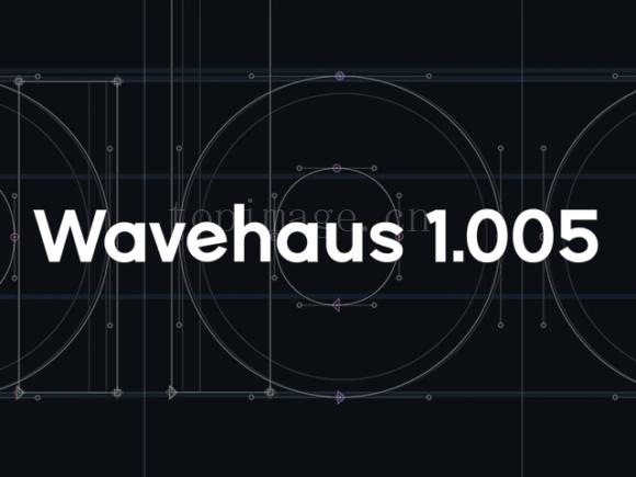 Wavehaus适合排版印刷简洁英文字体下载