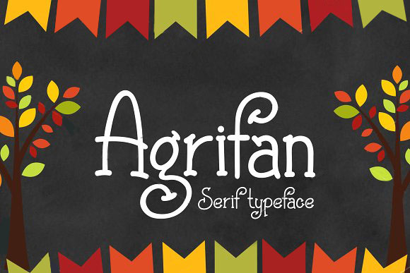 agrifan趣味手写艺术英文字体下载