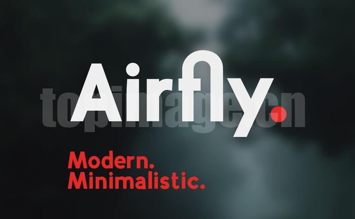 Airfly现代简洁英文字体下载