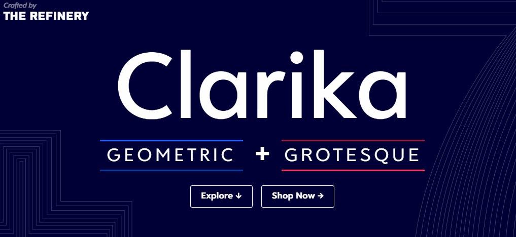 allclars现代无衬线简洁logo英文字体下载