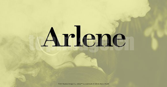 Arlene衬线复古英文字体下载
