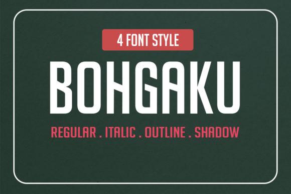 bohgaku family现代汽车机械行业创意logo英文字体下载