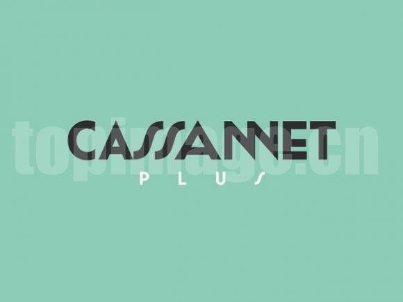 cassannet经典英文字体下载