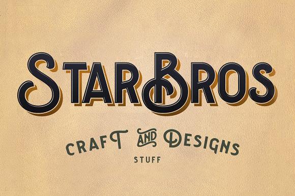 courageous现代趣味个性logo英文字体下载