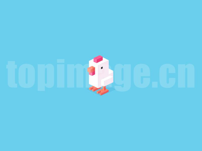 小鸡2.5d立体icon图标flat模板sketch矢量文件下载