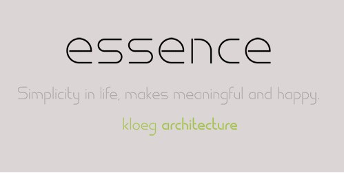 essence无衬线现代极简logo设计英文字体下载