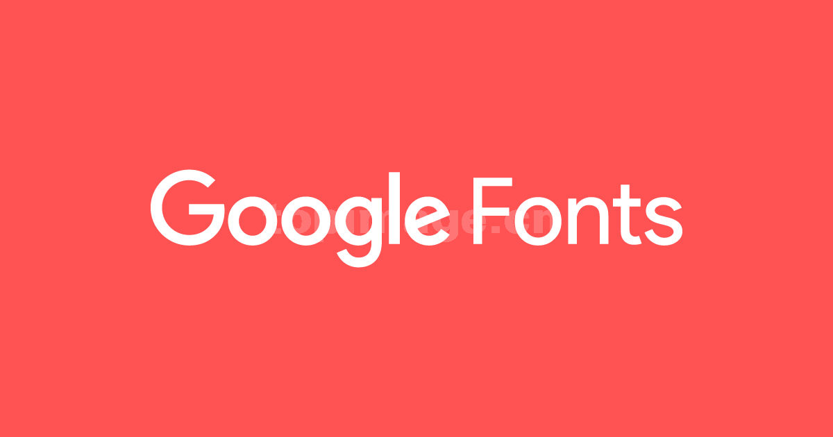 google简约logo现代个性无衬线英文字体下载