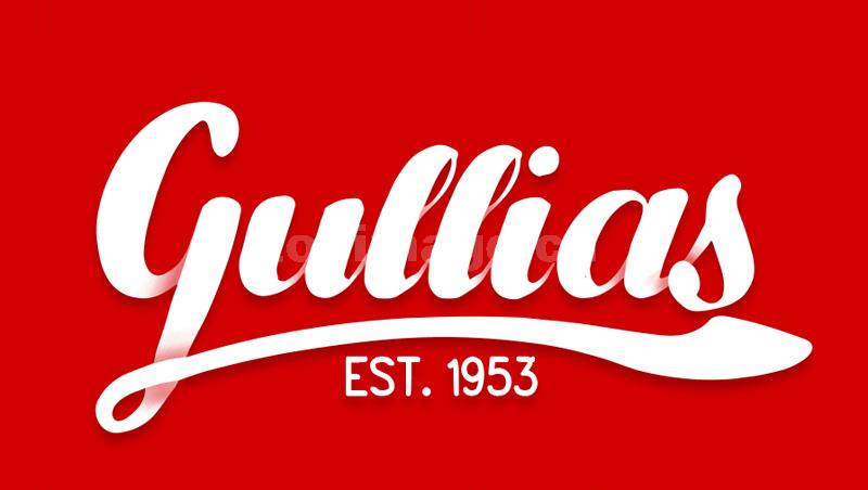 gullias手写英文字体手绘风格下载