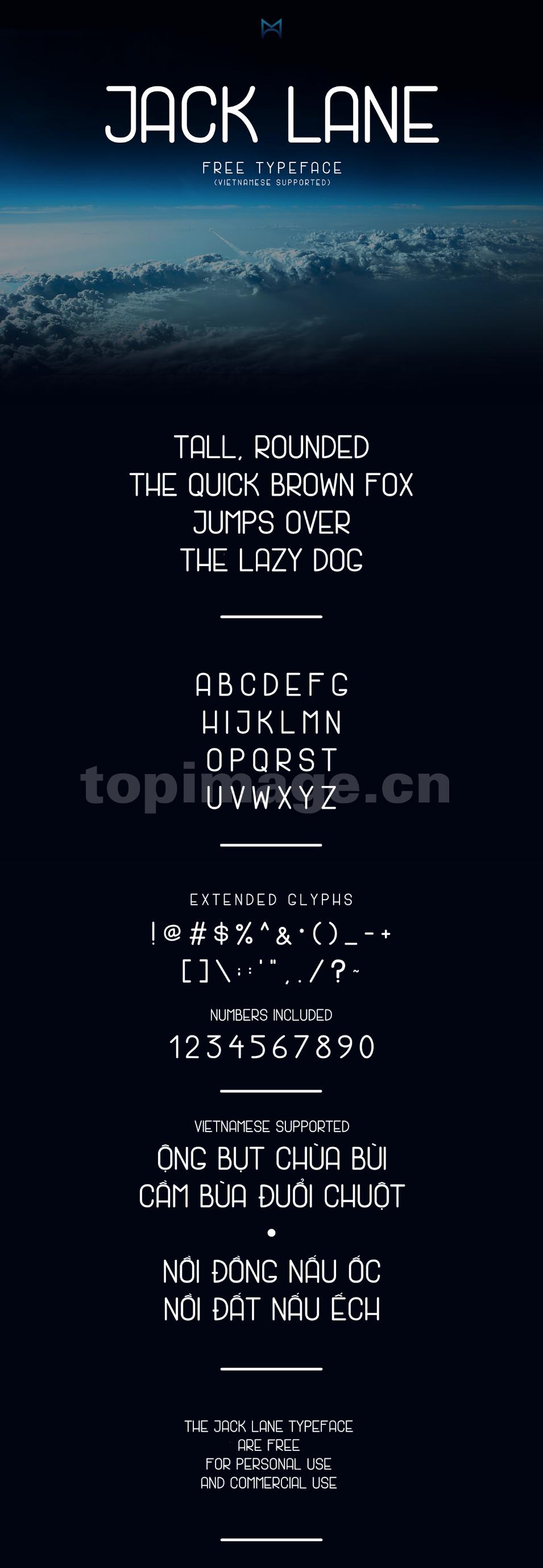 jack lane简约现代个性化时尚创意海报英文字体下载