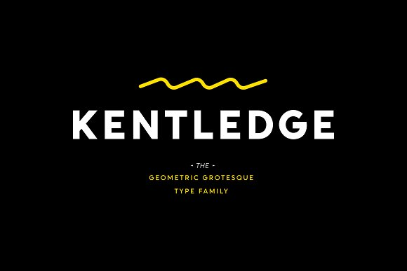 kentlege现代无衬线logo设计英文字体下载