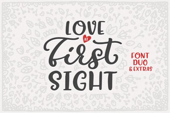 Love at First Sight 手写连笔logo英文字体下载