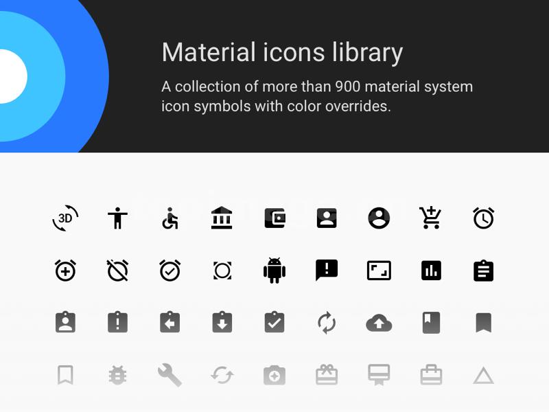 material icon库扁平矢量 sketch 模板图标icon矢量下载