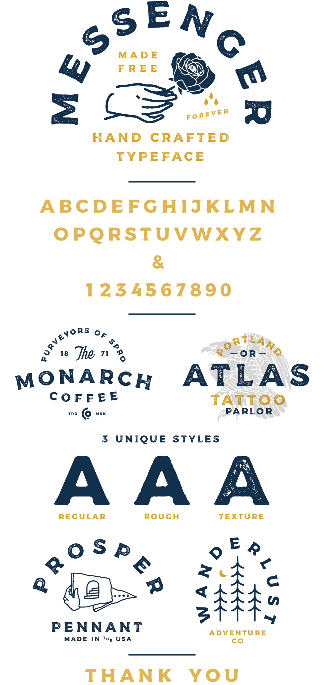 messenger创意logo设计英文字体下载