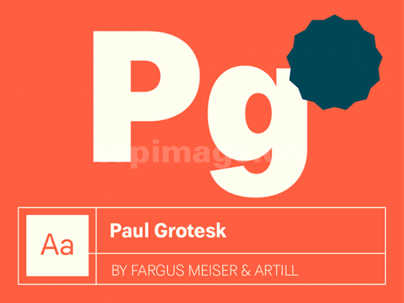 PaulGrotesk海报英文字体下载