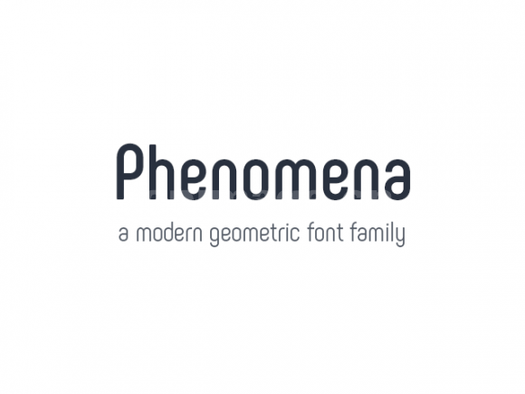 phenomena好看简洁纤细英文字体下载