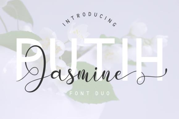 putih jasmine现代无衬线及花式英文字体下载