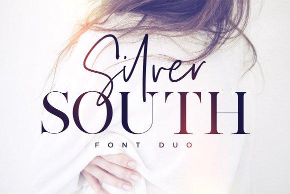 silver south现代衬线及手写英文字体下载
