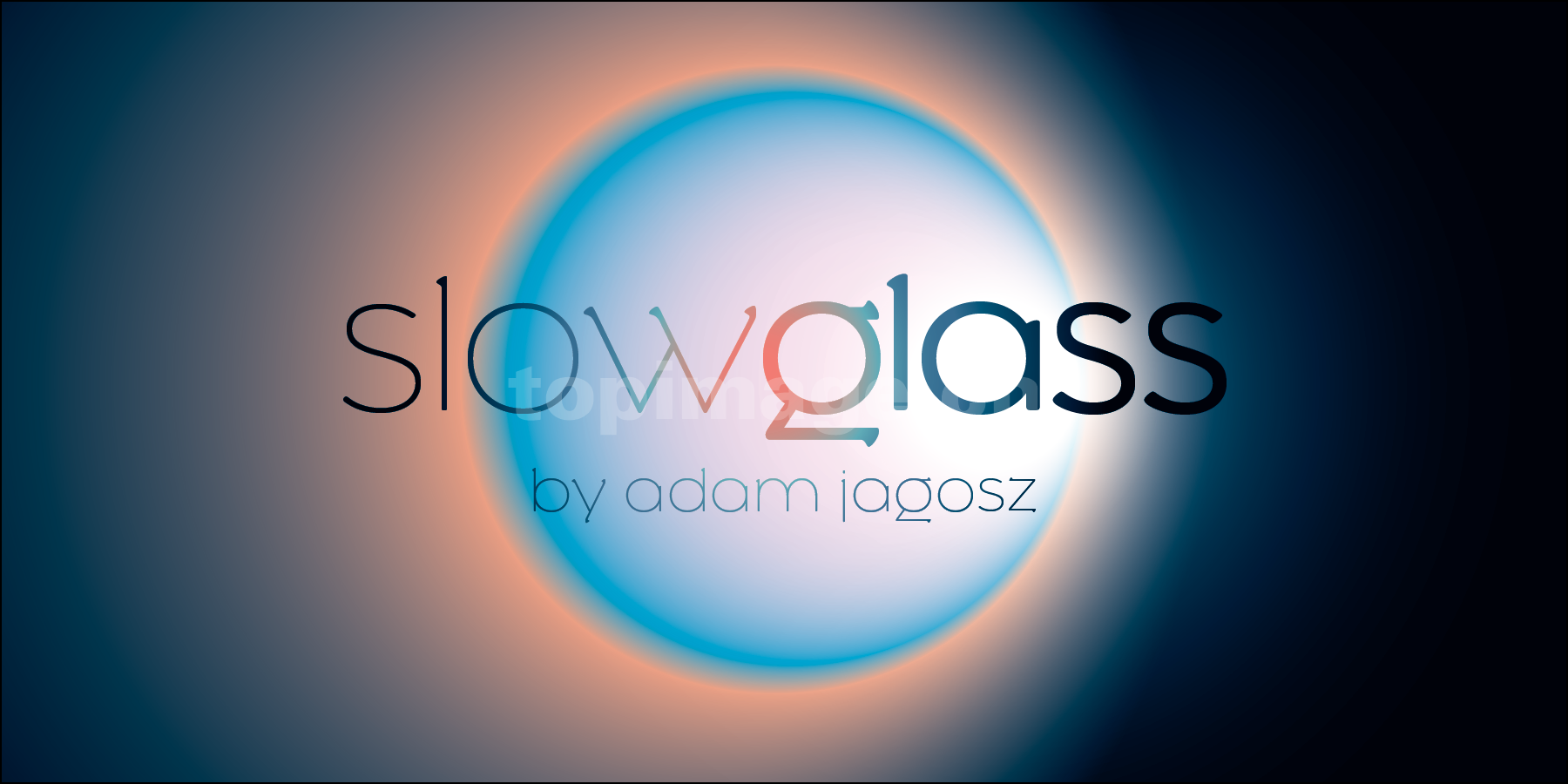 slowglass现代简洁极纤细海报英文字体下载
