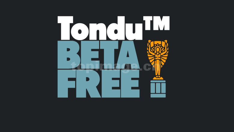 TonduBeta现代简洁英文字体下载